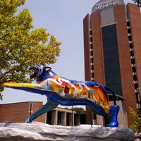 Photo taken at University of Memphis by Mike P. on 7/5/2012
