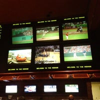 Photo taken at The Mirage Race & Sports Book by Harvey C. on 5/13/2012