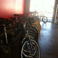Photo taken at Routes Bicycle Tours & Rentals by Naomi G. on 3/15/2012