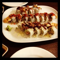 Photo taken at O'Sushi by Chelsea F. on 4/19/2012