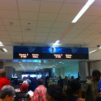 Photo taken at Concourse D by Ryan F. on 6/18/2012