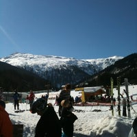 Photo taken at Skigebiet Schlossalm - Angertal / Ski amadé by Jennifer S. on 3/1/2012