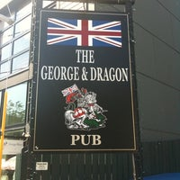 Photo taken at George & Dragon Pub by Brendon M. on 7/7/2012