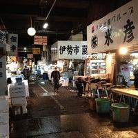 Photo taken at Tsukiji Market by kozo i. on 4/3/2012