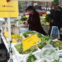 Photo taken at Farmers Market on Cortelyou by Ravish M. on 4/1/2012