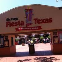 Photo taken at Six Flags Fiesta Texas by Nino C. on 8/3/2012