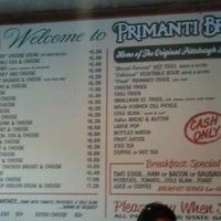 Photo taken at Primanti Bros. by Sandra S. on 8/25/2012