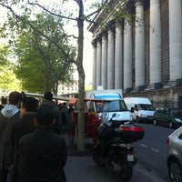 Photo taken at Le Camion qui Fume – Place de la Madeleine by . on 5/1/2012