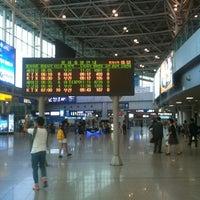 Photo taken at Seoul Station by Yoonkyung L. on 6/8/2012