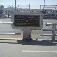 Photo taken at Puente Internacional Santa Fe (Paso Del Norte) by Yo M. on 9/10/2012