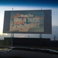 Photo taken at Stars & Stripes Drive-In Theatre by Angela A. on 8/19/2012
