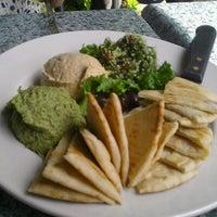 Photo taken at Irregardless Cafe by Lisa J. on 4/20/2012