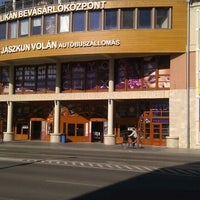 Photo taken at Pelikán Bevásárlóközpont by Győri L. on 3/18/2012