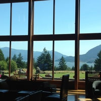Photo taken at Skamania Lodge by Bryan M. on 7/7/2012