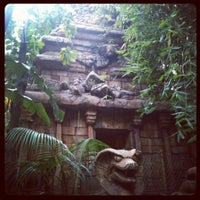 Photo taken at Indiana Jones Adventure by Jordan C. on 2/21/2012