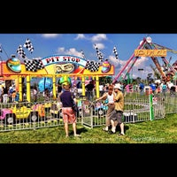 Photo taken at Goshen Fairgrounds by Steven E. on 9/2/2012