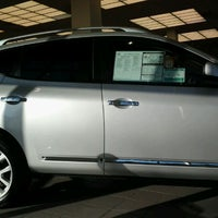 Photo taken at Quirk Nissan by Mrs. Golightly on 3/27/2012