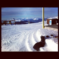 Photo taken at Whistler Mtn. Peak by Marc A. on 2/6/2012