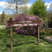 Photo taken at Azalea Gardens by Dina L. on 4/9/2012