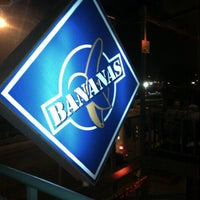 Photo taken at Banana's Café by Nelly A. on 8/17/2012