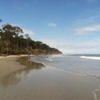 Photo taken at Hunting Island Beach by christina k. on 3/13/2012