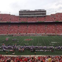 Photo taken at Camp Randall Stadium by Stephanie F. on 9/1/2012