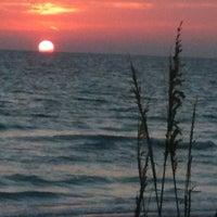 Photo taken at Bradenton Beach by Kelly H. on 6/16/2012