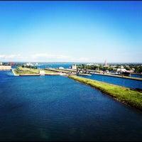 Photo taken at Sault Sainte Marie International Bridge by Nathan S. on 7/7/2012