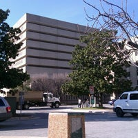 Photo taken at Guilford County Courthouse by Rebecca G. on 2/9/2012