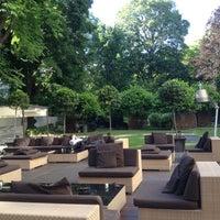 Photo taken at Bulgari Hotel Milano by Mara P. on 5/23/2012