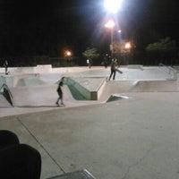 Photo taken at Lawton Skate Park by Aerielle O. on 9/11/2012