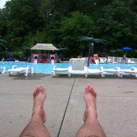 Photo taken at Burdette Park by Keith C. on 8/26/2012