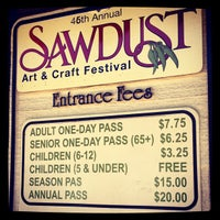 Photo taken at Sawdust Art Festival by Timothy M. on 8/11/2012