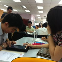 Photo taken at Library @ IMU by Siying T. on 7/2/2012