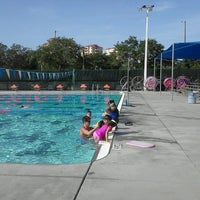 Photo taken at North Shore Aquatic Complex by madeline k. on 8/9/2012