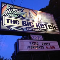 Photo taken at The Big Ketch Saltwater Grill by Jina B. on 6/21/2012