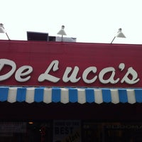 Photo taken at DeLuca's Diner by Jeff P. on 4/21/2012