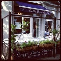 Photo taken at Caffe Buon Gusto - Brooklyn by Ilya V. on 9/8/2012