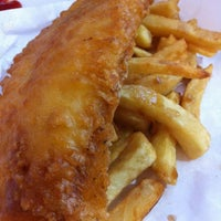 Photo taken at Smiths Authentic British Fish And Chips by Fizzycitrus on 3/26/2012