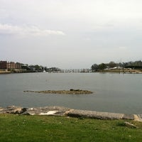 Photo taken at Roger Sherman Baldwin Park by Grant H. on 4/15/2012