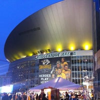 Photo taken at Bridgestone Arena by Michael R. on 5/3/2012