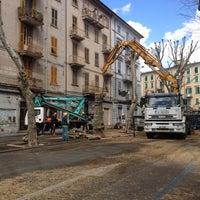 Photo taken at Piazza Garibaldi by Max B. on 3/19/2012