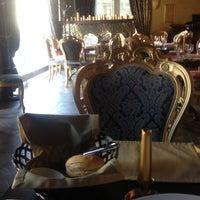 "Photo taken at ""Gold - Cafe"" Restorāns by Raimonds P. on 3/8/2012"