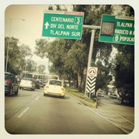 Photo taken at Av. División del Norte by Aldiux A. on 5/12/2012