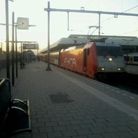 Photo taken at Intercity Direct Breda - Amsterdam Centraal by Lesley E. S. on 8/3/2012