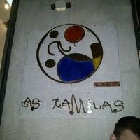 Photo taken at Las Ramblas by Aris N. on 4/8/2012