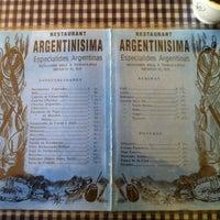 Photo taken at Argentinísima by Alex G. on 5/27/2012