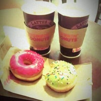 Photo taken at Dunkin' Donuts by Nastya on 8/6/2012