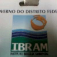 Photo taken at IBRAM - Instituto Brasília Ambiental by Fernando M. on 7/23/2012