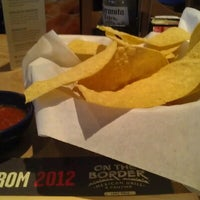 Photo taken at On The Border Mexican Grill & Cantina - Closed by Jessica M. on 6/18/2012